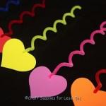 foam heart decorations