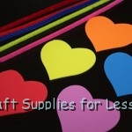 Foam Shapes & Twist Chenille Stem Supplies Needed