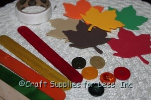 Thankful craft stick supplies needed