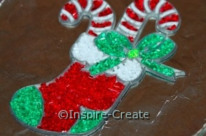 makit bakit ornament with baking crystals