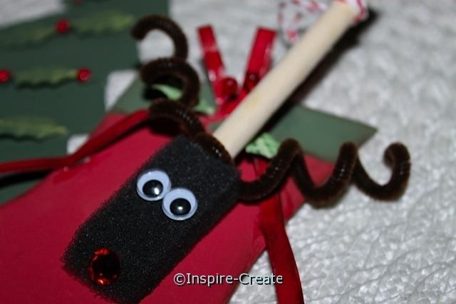 easy reindeer ornament