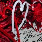 easy heart garland