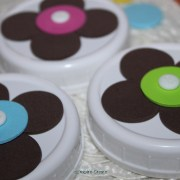 flower mason jar lids