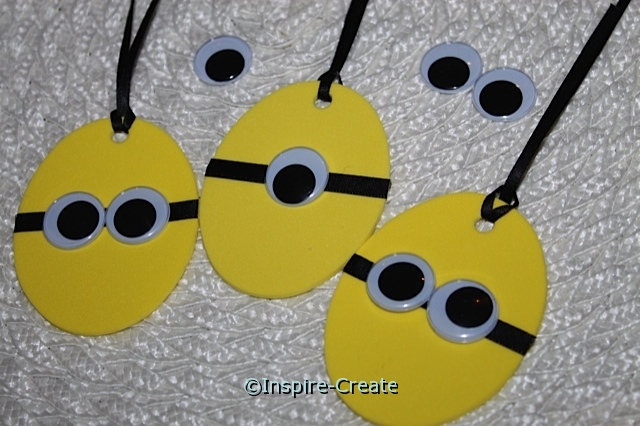 minion easter eggs for hanging party decorations