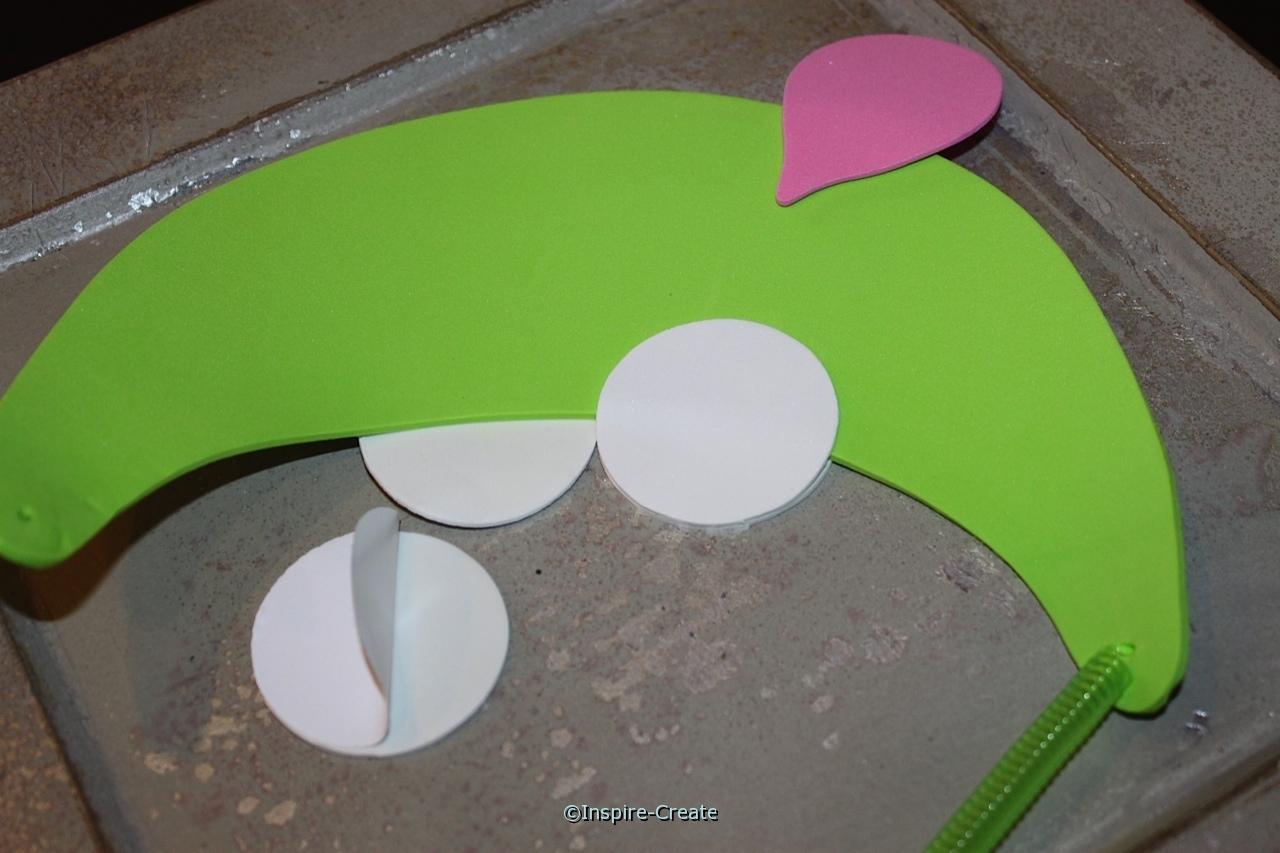 frog visor add eyes on back of visors