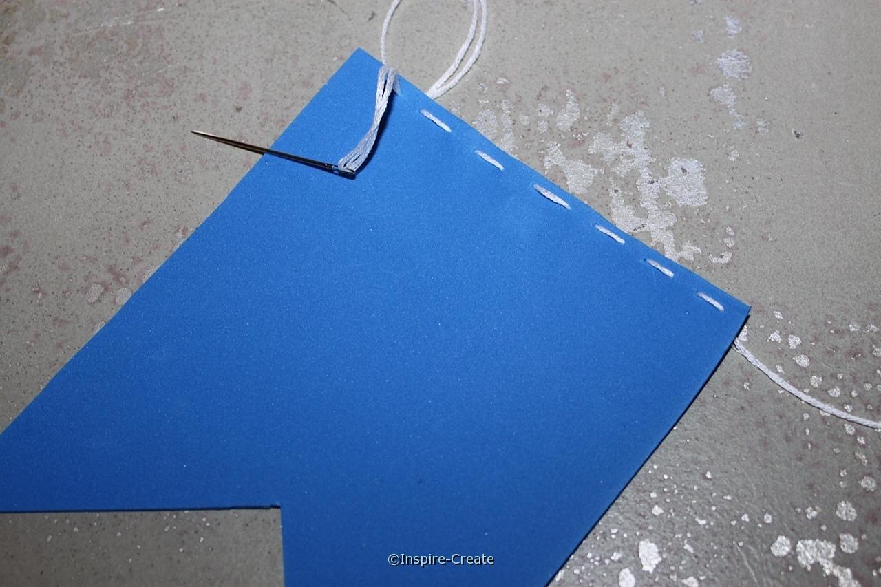Sew around Craft Foam Banner