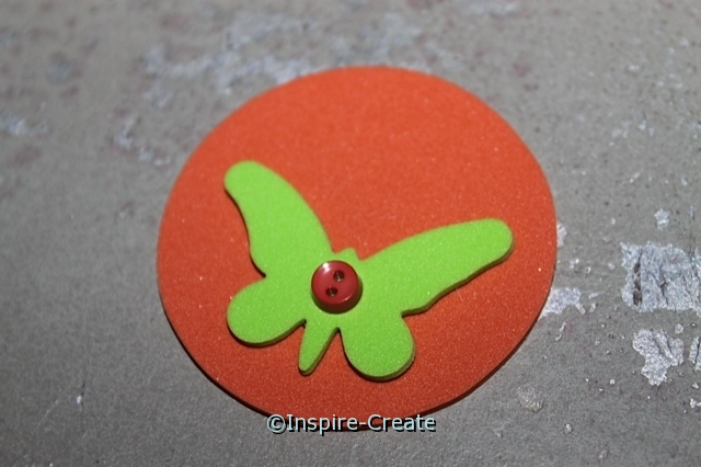 Butterfly Necklaces...add a mini button!