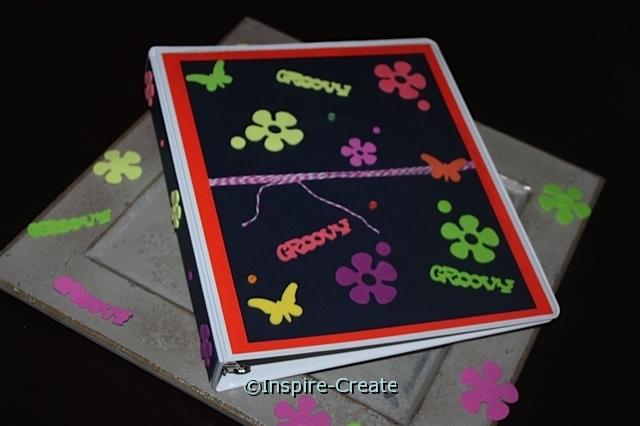 Easy Flower Binder with Foam Stickers
