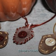 Acorn Necklaces for an easy Fall Craft you can wear!