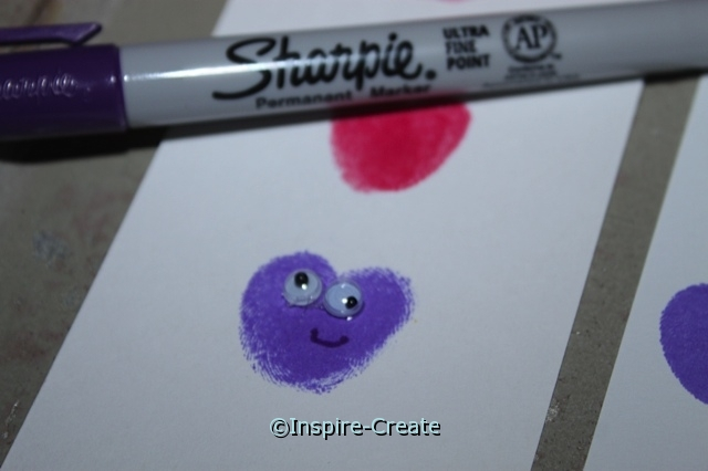 Add Tiny Wiggle Eyes to Hearts!