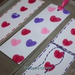 DIY: Heart Bookmarks for Kids to Make