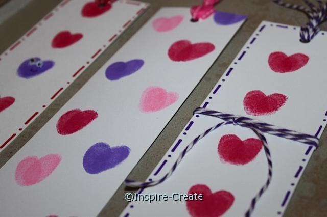 How to Make Heart Bookmarks for Kids