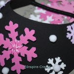 DIY.. Foam Visors with Snowflakes for your next frozen party!