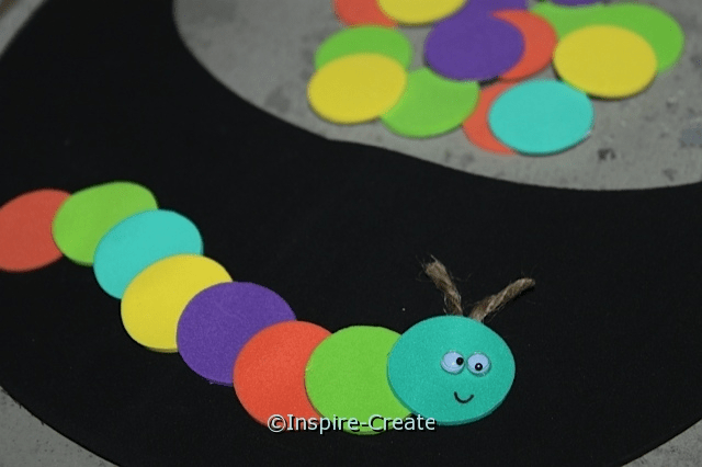 Kids Visor Craft Idea... Hungry Caterpillar Visors!