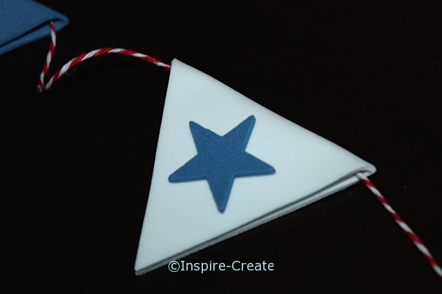 4th of July Flag Craft.