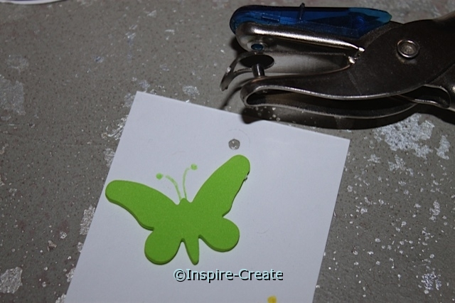 Butterfly Bookmarks.. hole punch insert to add bookmark tassel, ribbon, or twine!