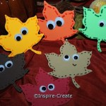 How to Make Fall Leaf Magnets... Easy Fall Craft!