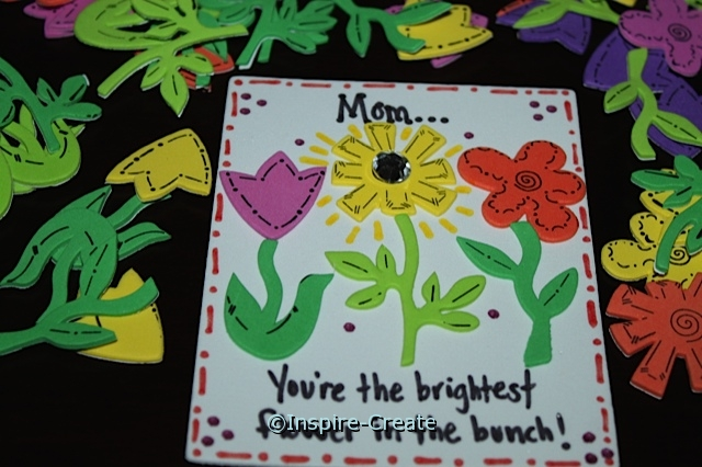 Flower Magnets for Mother's Day!