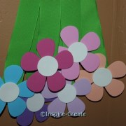 Craft Foam Petal Flowers for Spring Crafts!