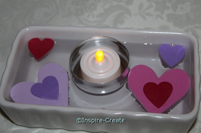 how to make candles float...its easy