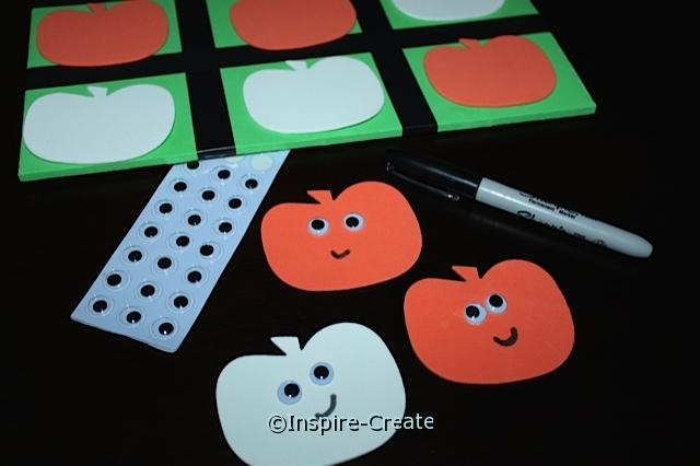 Pumpkin Tic Tac Toe Game with Craft Foam & Wiggle Eyes