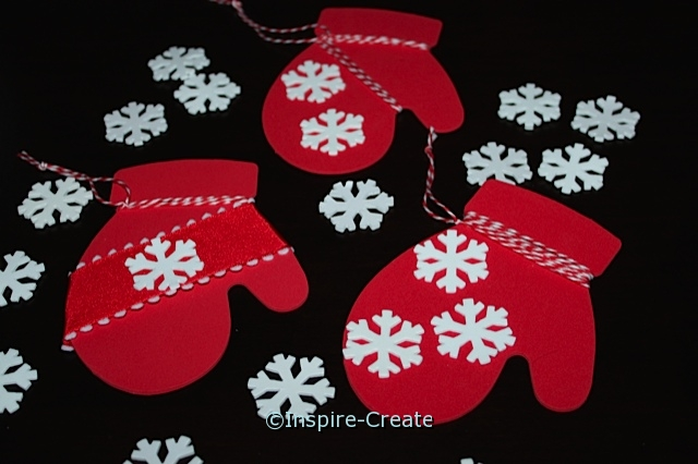 Mitten Ornaments for Kids to Make