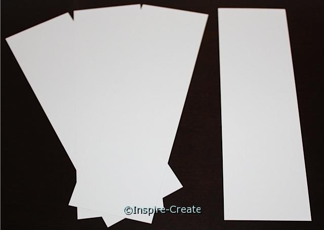 Small White Bookmark Inserts (50)*