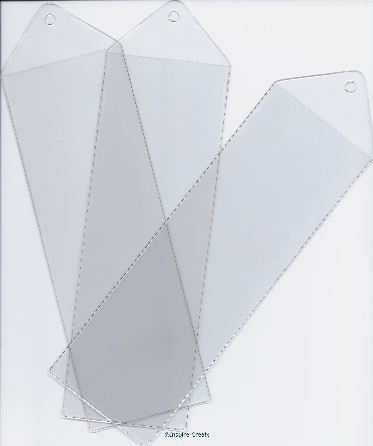Large Bookmark Vinyl Sleeves (50)*