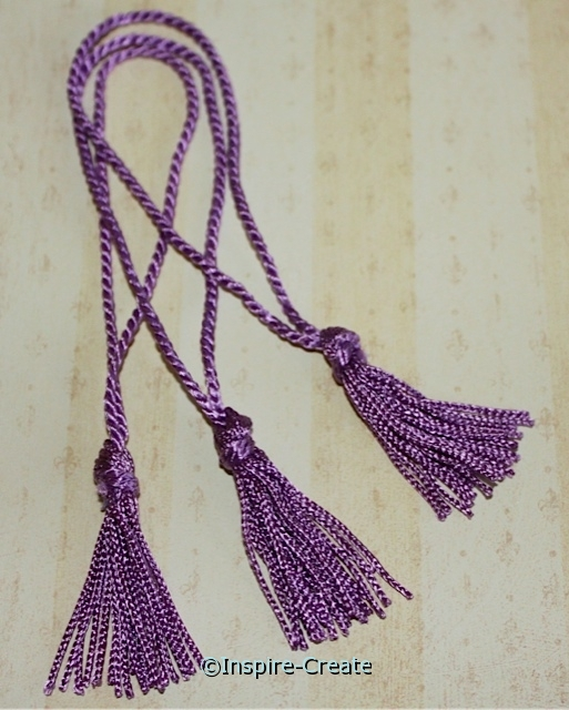 Orchid Chainette Bookmark Tassels (50)*