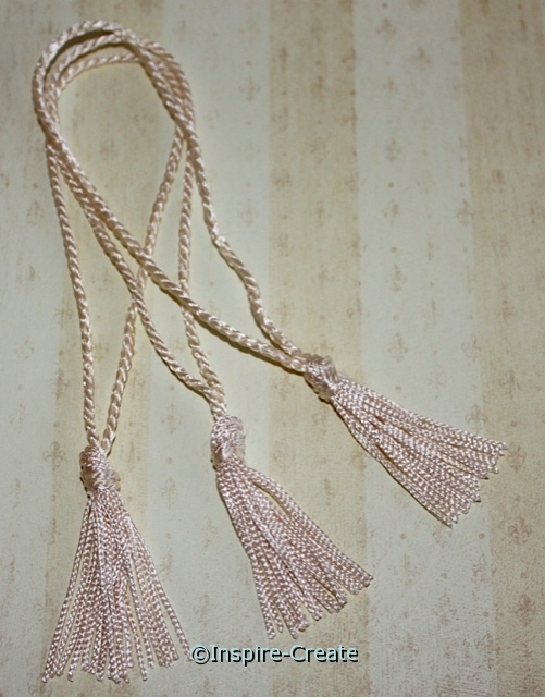 Natural Chainette Bookmark Tassels (50)*