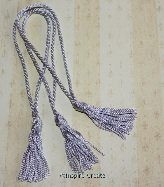 Silver Chainette Bookmark Tassels (50)*