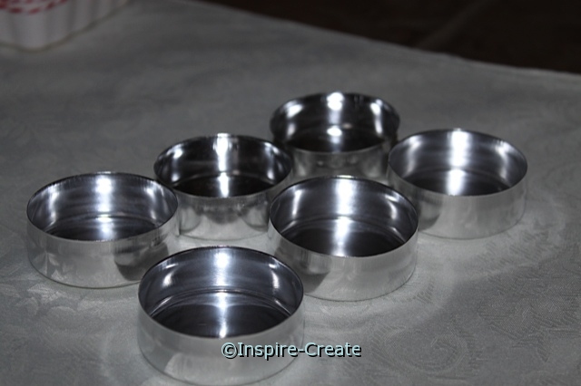 Small Silver Tins (6 pack)*