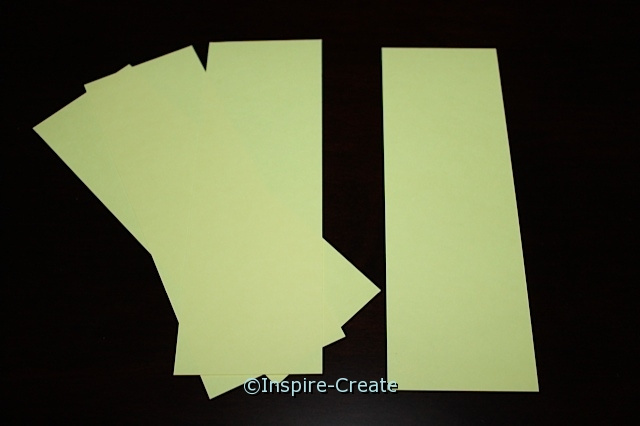 Yellow Medium Bookmark Inserts (50)*