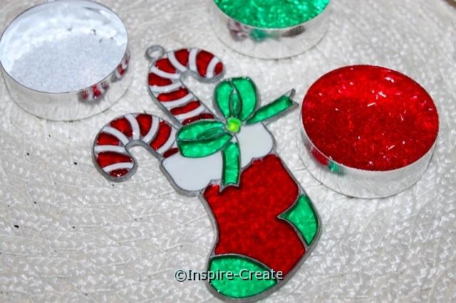 Makit & Bakit Stocking w/Candy Canes Ornament Kit*