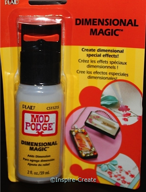 Mod Podge Dimensional Magic*