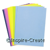 Foamies Sticky Back 9x12 Fashion Pastel (12)*