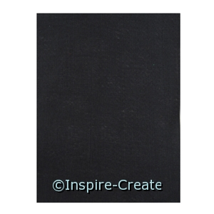 Black 9x12 Soft Felt Sheets (24)*