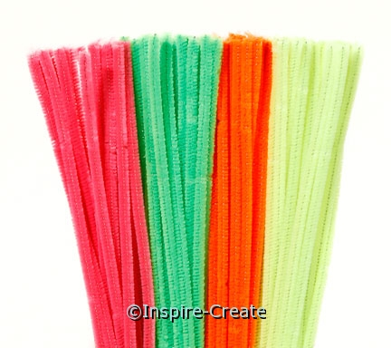Bright Assorted Chenille Stems (100)*