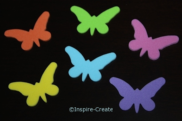Small Butterfly Foam SHAPES (Bulk 216) ~All Sales Final