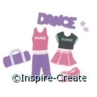 Foamies Dance Stickers (60)*