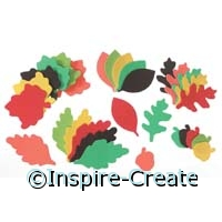 Foamies Leaf & Acorn Stickers (90)*