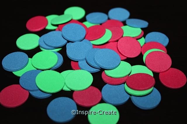 "3/4"" Multi Foam Circle SHAPES (480)*"