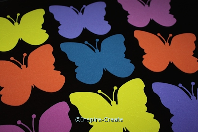 Large Butterfly Foam SHAPES (Bulk 60)*