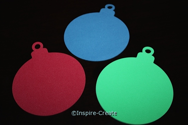 Foam Christmas Ornament Shapes (Bulk 60)*