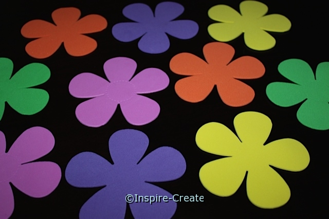 Petal Flower Foam SHAPES (Bulk 60) ~All Sales Final