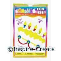 Foamies Birthday Cake Craft Kit*