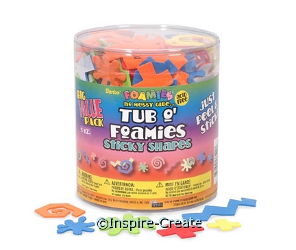 Foamies Geometric Sticker Bucket*