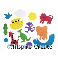 Foamies Noah Ark Sticker Bucket*