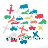 Foamies Transportation Stickers (60)*