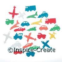 Foamies Transportation Stickers (60)*